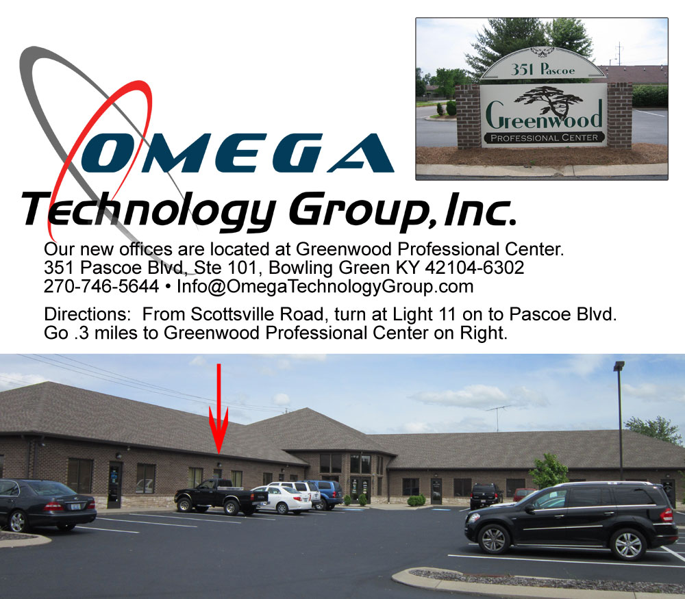 Omega Technology Group Office Map